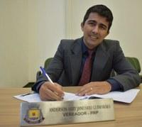 Balanço: Anderson Guimarães (PRP) apresentou 43 proposições no ano