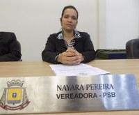 Balanço: Nayara Pereira (PSB) apresentou 65 proposições no ano
