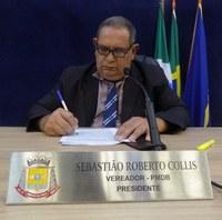 Balanço: Robertão (MDB) apresentou 12 proposições no ano