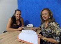 Nayara Pereira recebe presidente do Cetran para discutir municipalização do trânsito