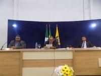 Vereadores encaminham primeiros PL's e homenageiam o clube Pinheiros